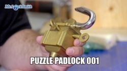 How to Open Puzzle Padlock 001 | Mr. Locksmith
