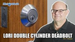 How to Remove Lori Double Cylinder Deadbolt | Mr. Locksmith™