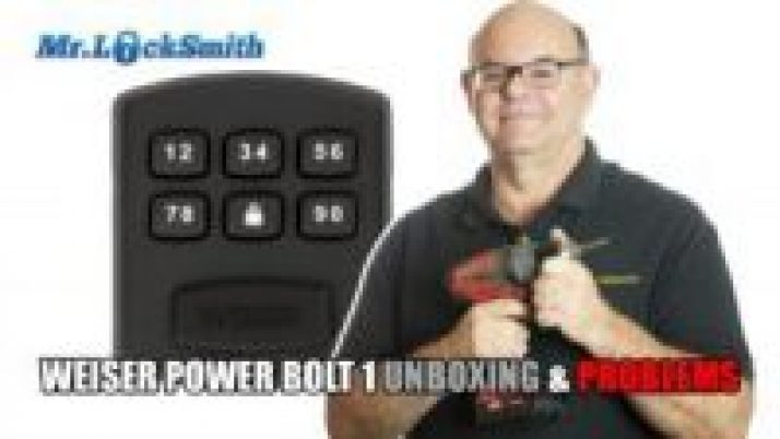 Weiser PowerBolt 1 Unboxing and Problems | Mr. Locksmith Maple RIdge