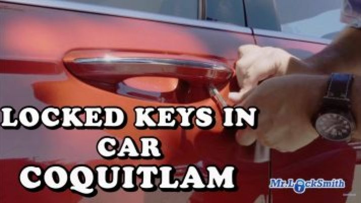 Locked Keys in Car Coquitlam | Mr. Locksmith™